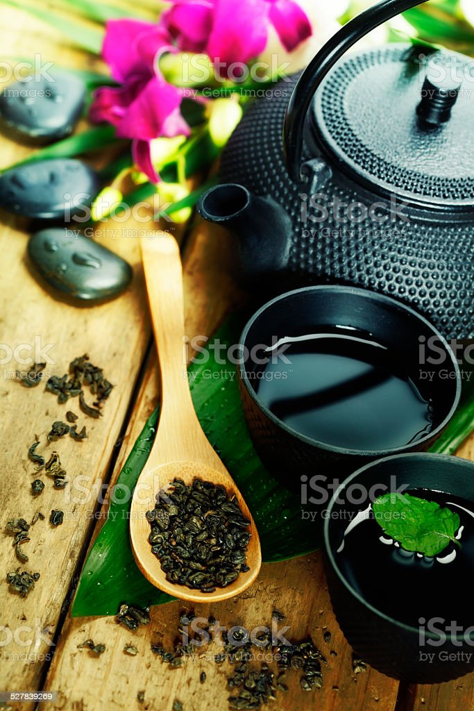 tea stock photo