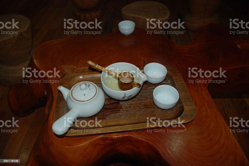 KOREAN STYLE Tea stock photo