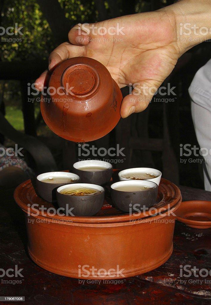 tea pottery royalty-free stock photo