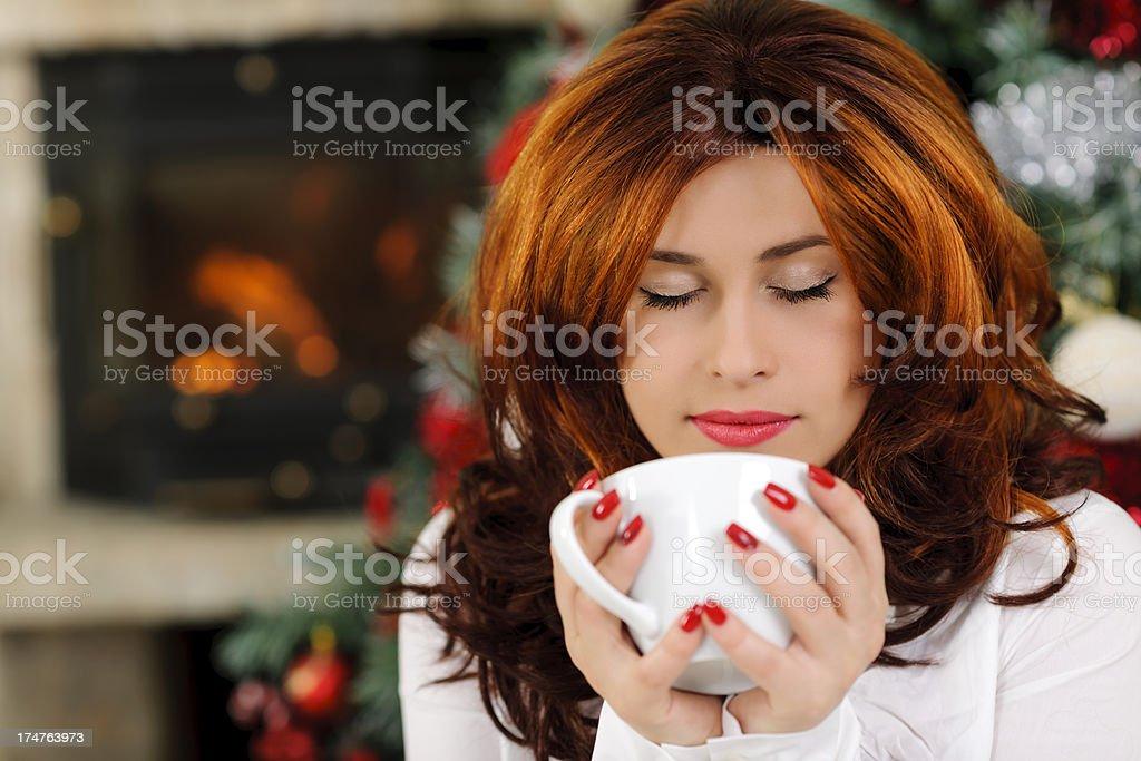 tea relax royalty-free stock photo
