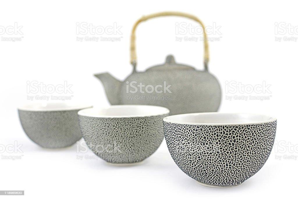 tea service stock photo