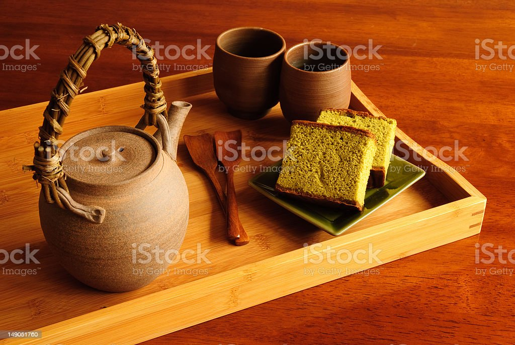 Tea Serving royalty-free stock photo