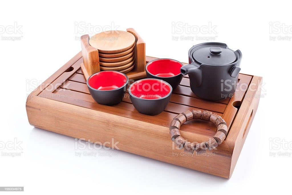 Tea set. royalty-free stock photo
