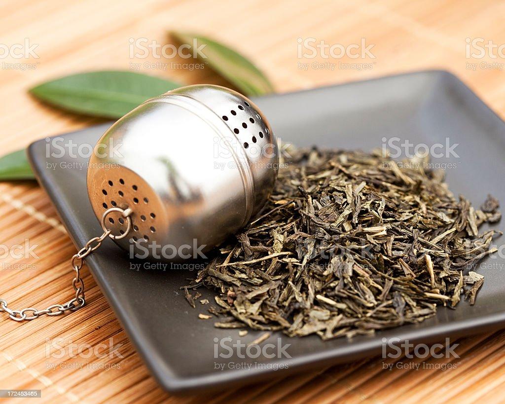 Tea set stock photo