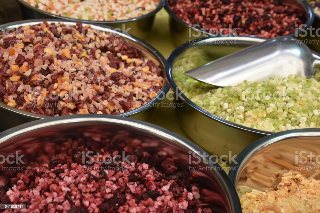 Tea spices mixture stock photo