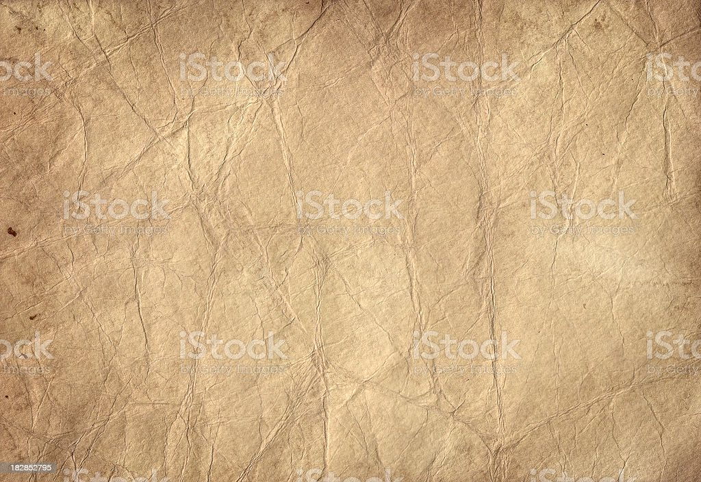 Tea Stained Paper stock photo