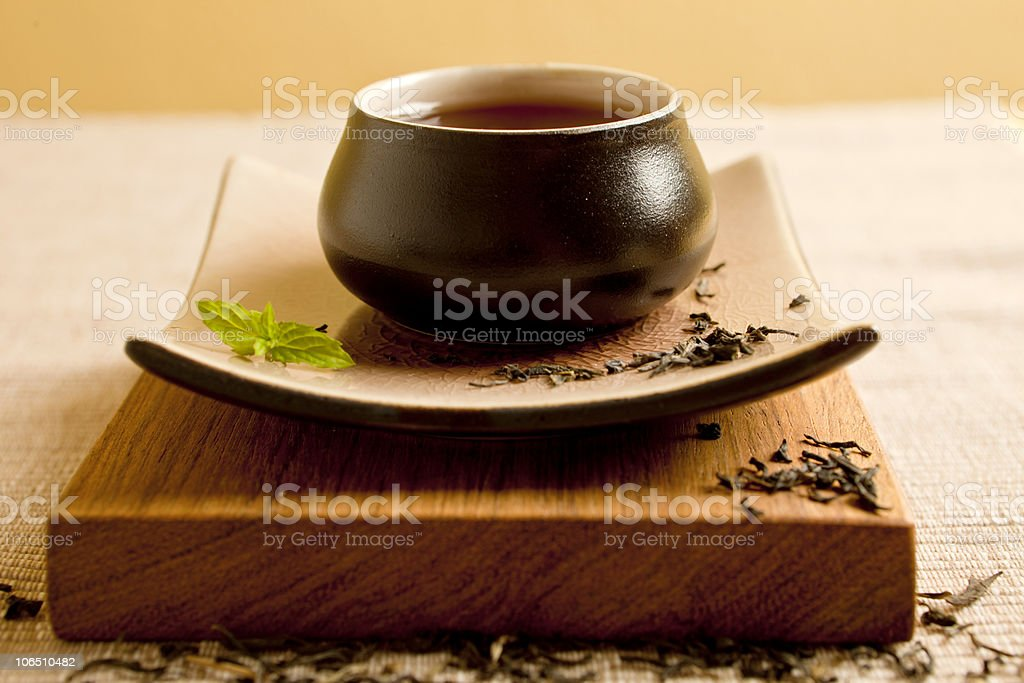 Tea still life. royalty-free stock photo