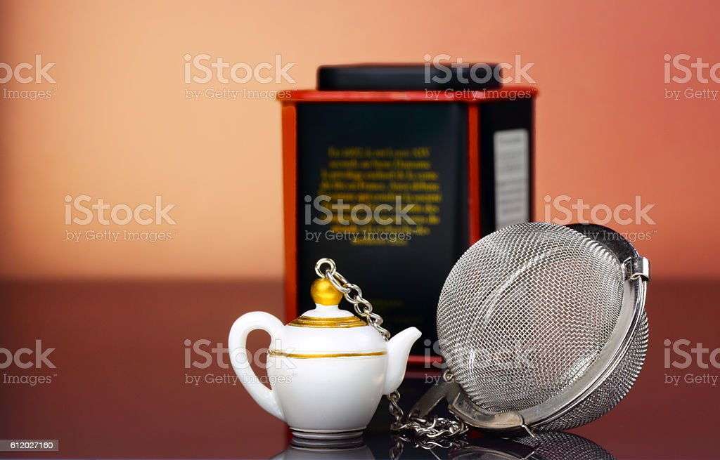 Tea Strainer stock photo
