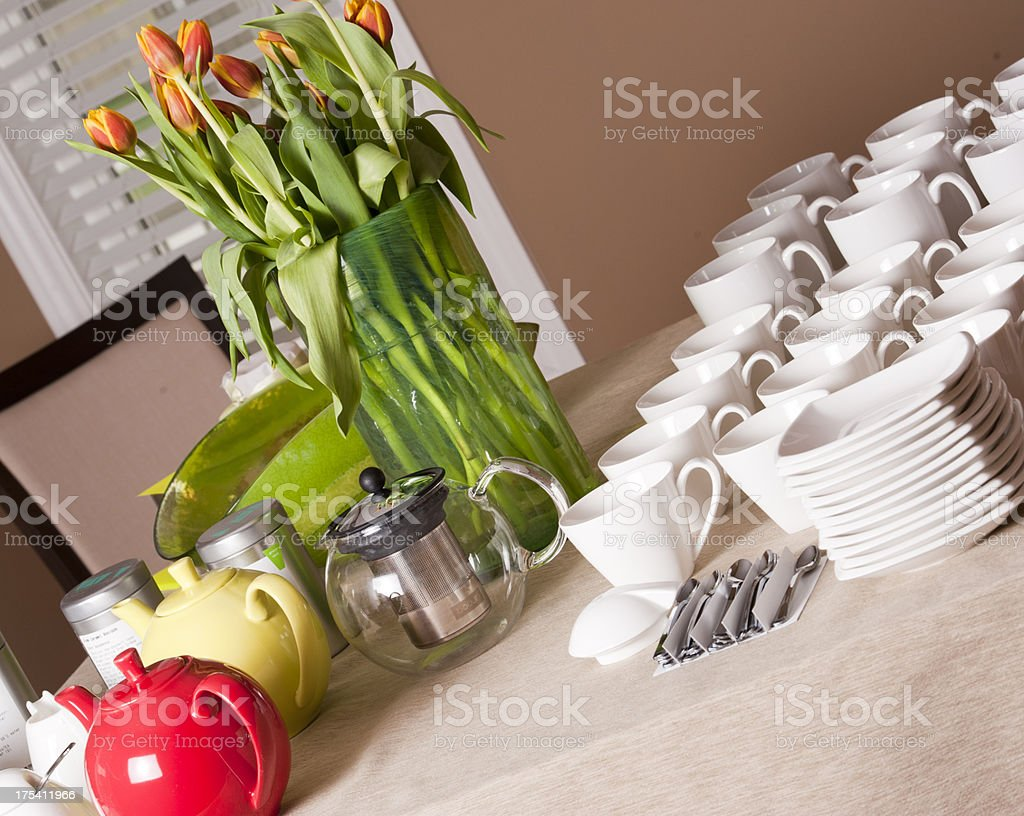 Tea Table royalty-free stock photo