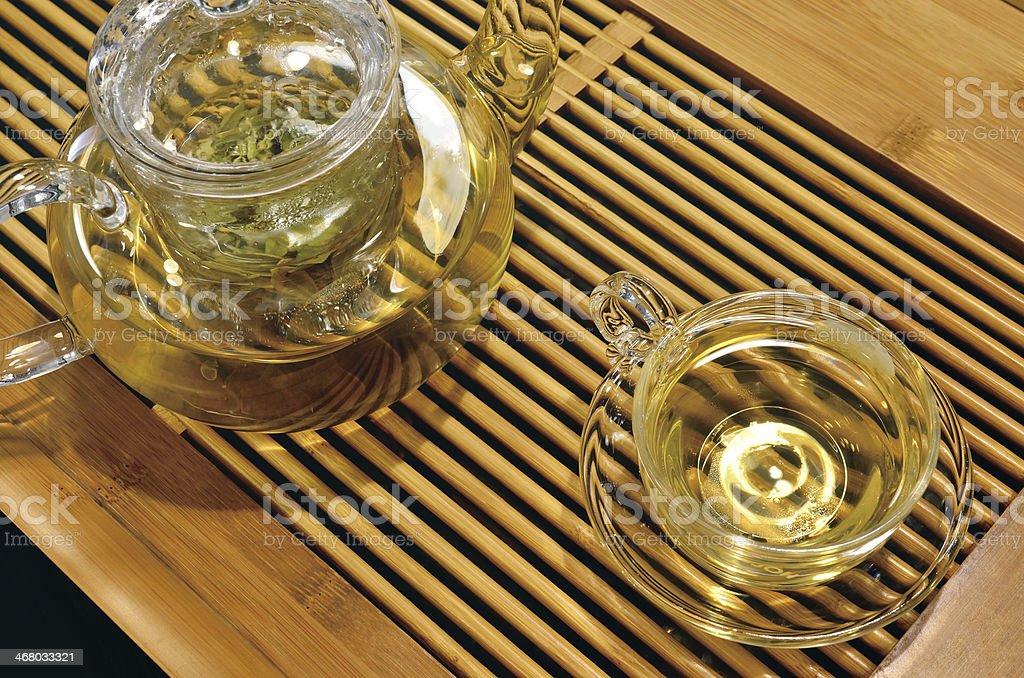 Tea & Teapot royalty-free stock photo
