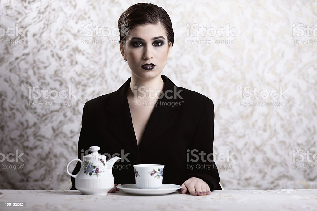 Tea time stock photo