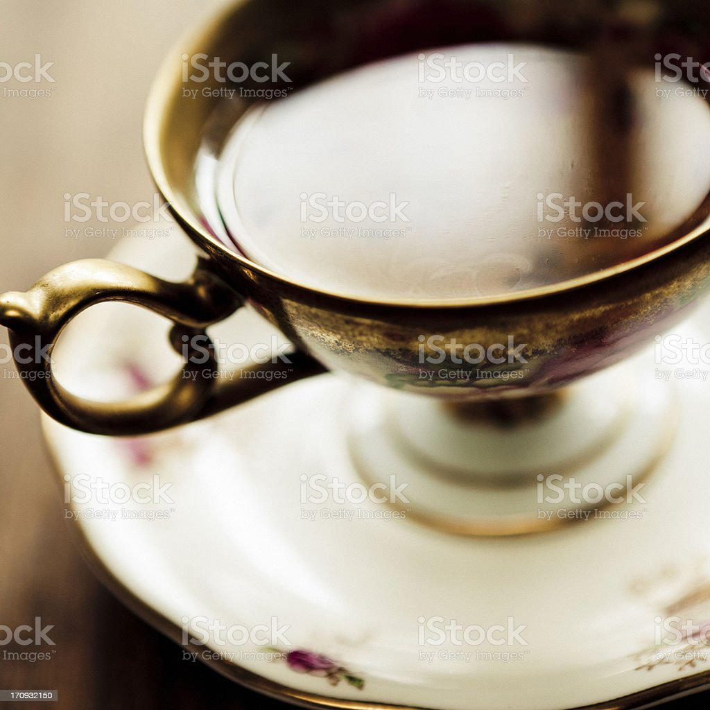 Tea Time royalty-free stock photo