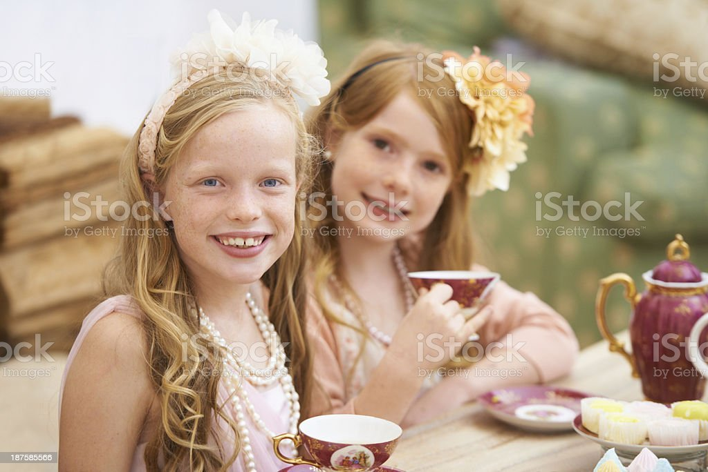 Tea time! stock photo