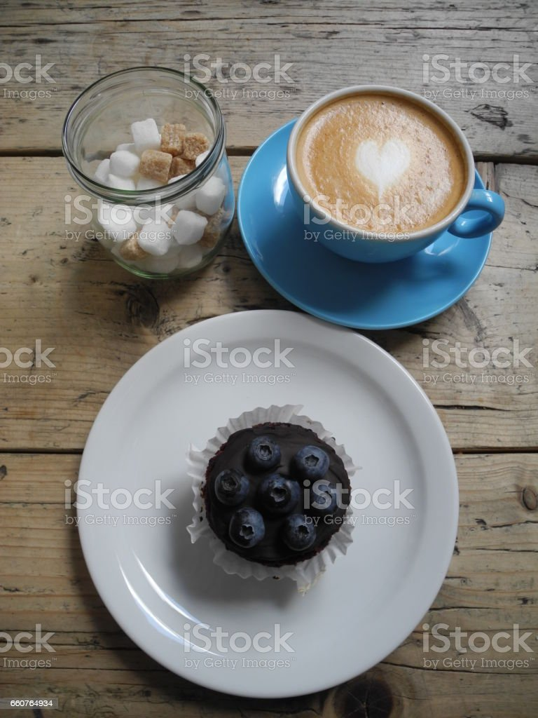 LOVE tea time stock photo