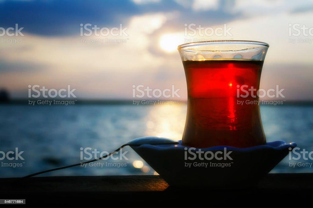Tea Time, Sky, Sun, pleasure stock photo
