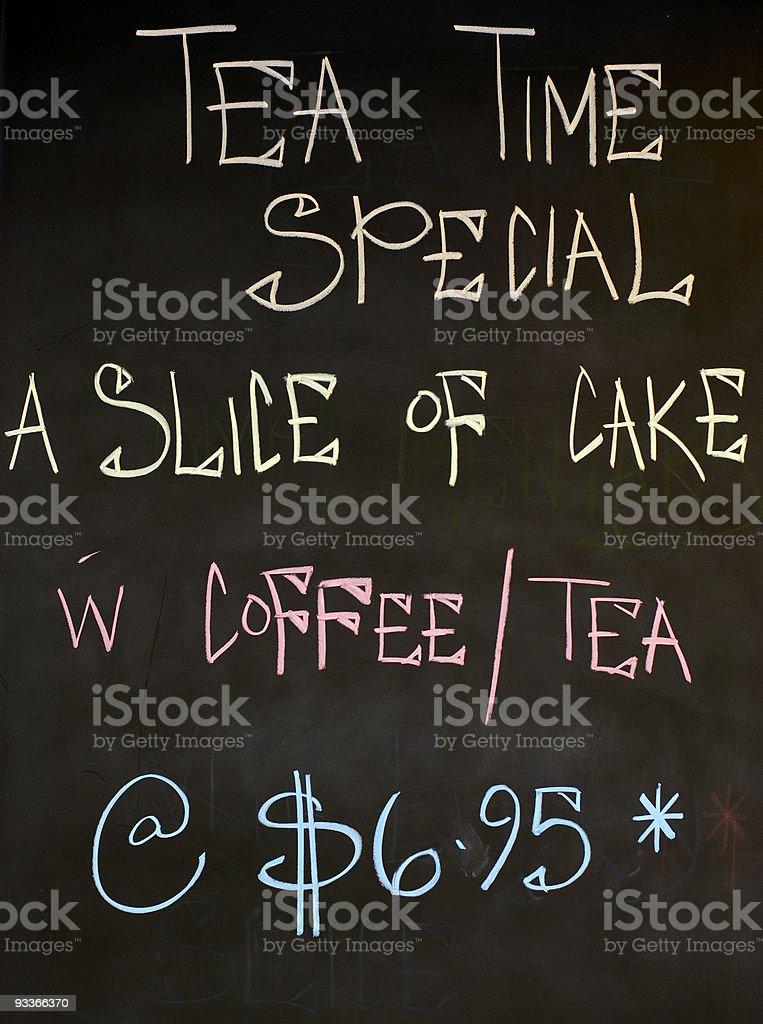 Tea Time Special royalty-free stock photo