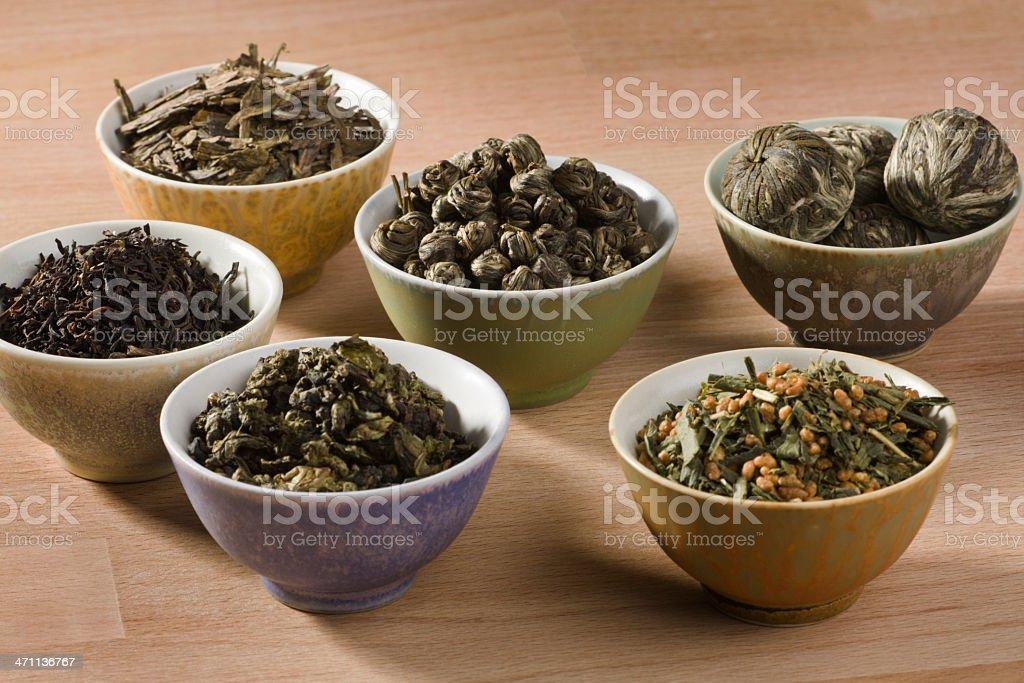 Tea Varieties royalty-free stock photo