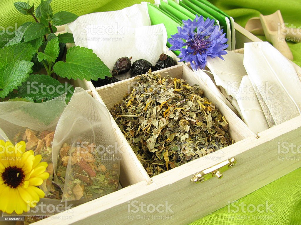 Tea variety stock photo