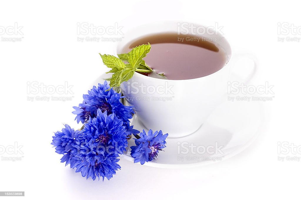 tea with mint royalty-free stock photo