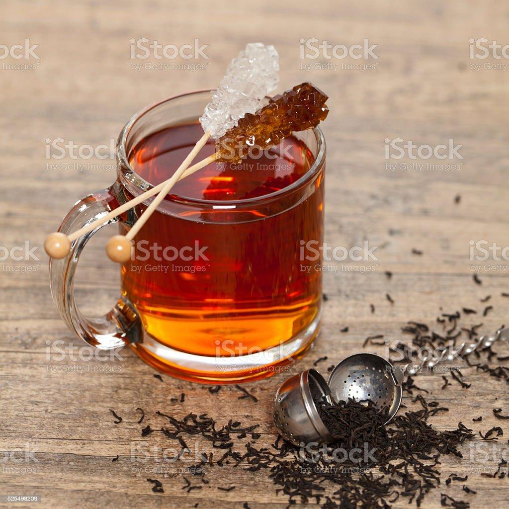 Tea with Mint stock photo