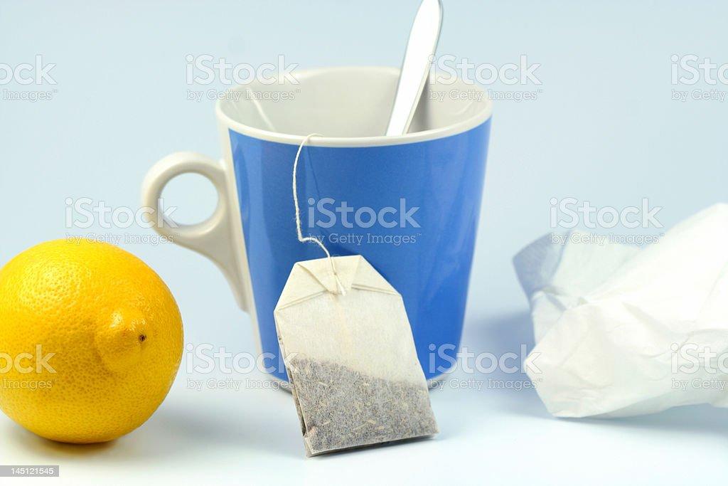 tea with vitamin C stock photo