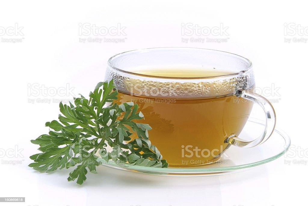tea wormwood stock photo