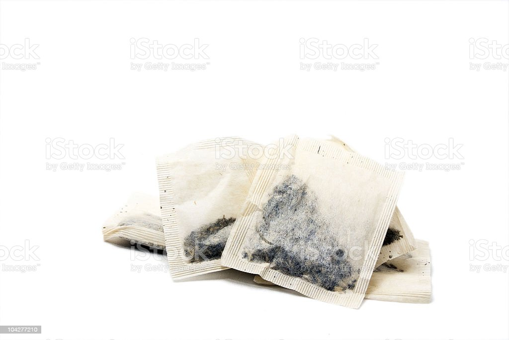 Teabags royalty-free stock photo