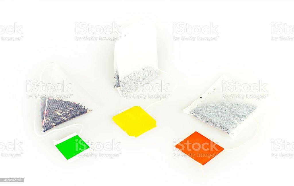 teabags stock photo