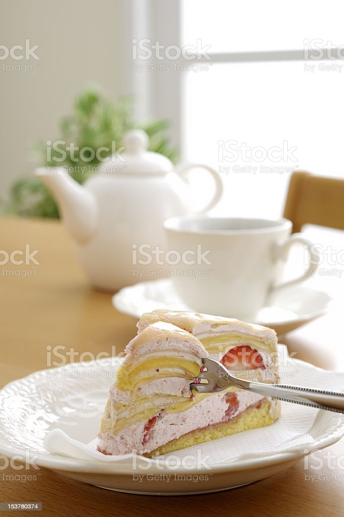 teabreak royalty-free stock photo