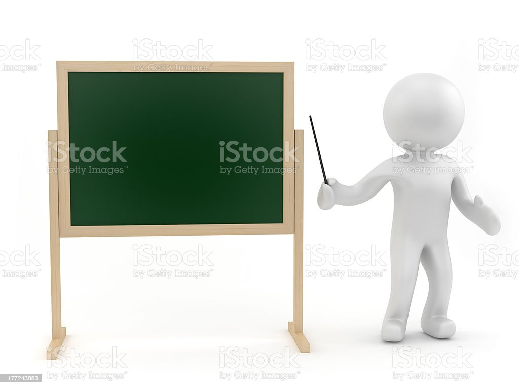 Teach royalty-free stock photo
