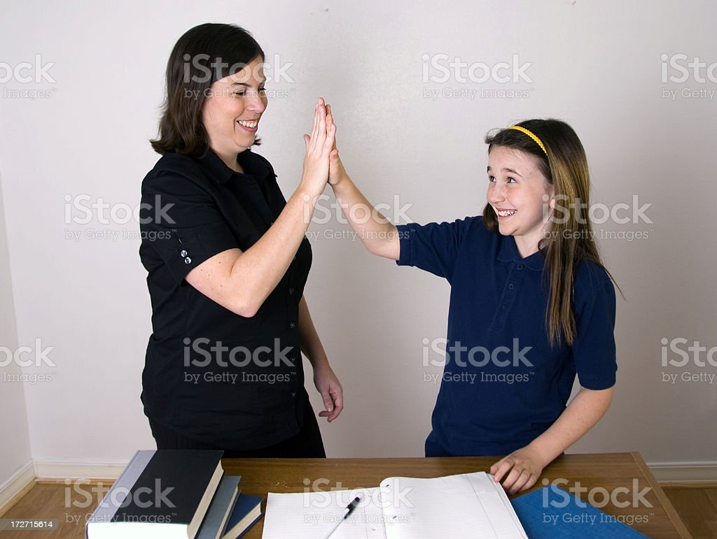 Teacher and Student #4 royalty-free stock photo