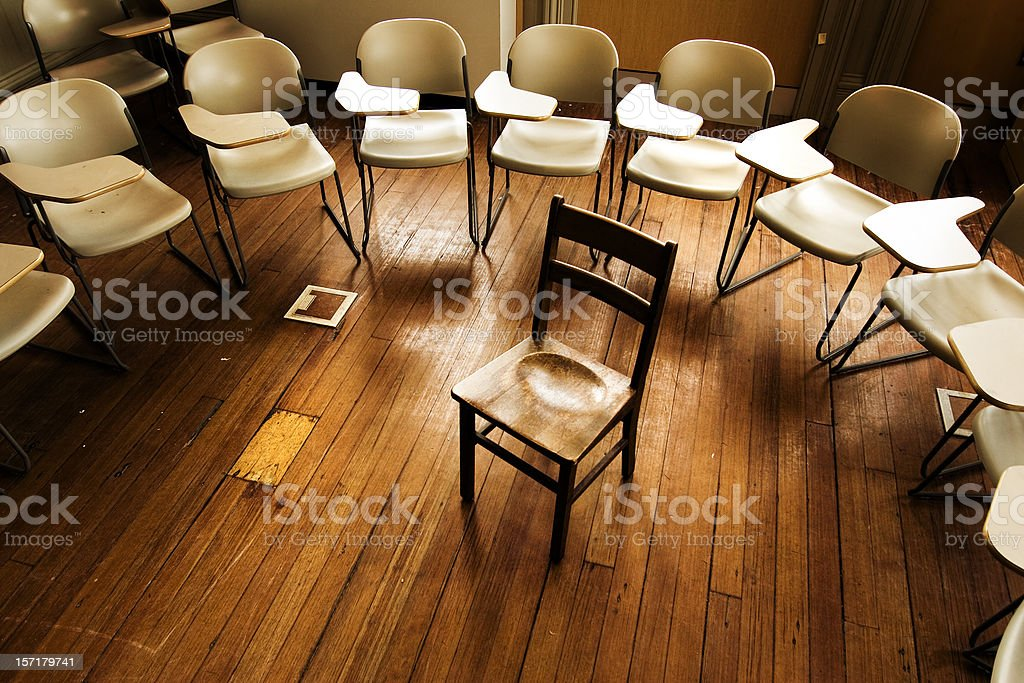Teacher and students royalty-free stock photo