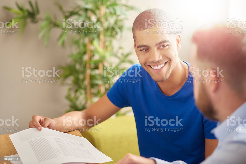 Teacher student one to one stock photo