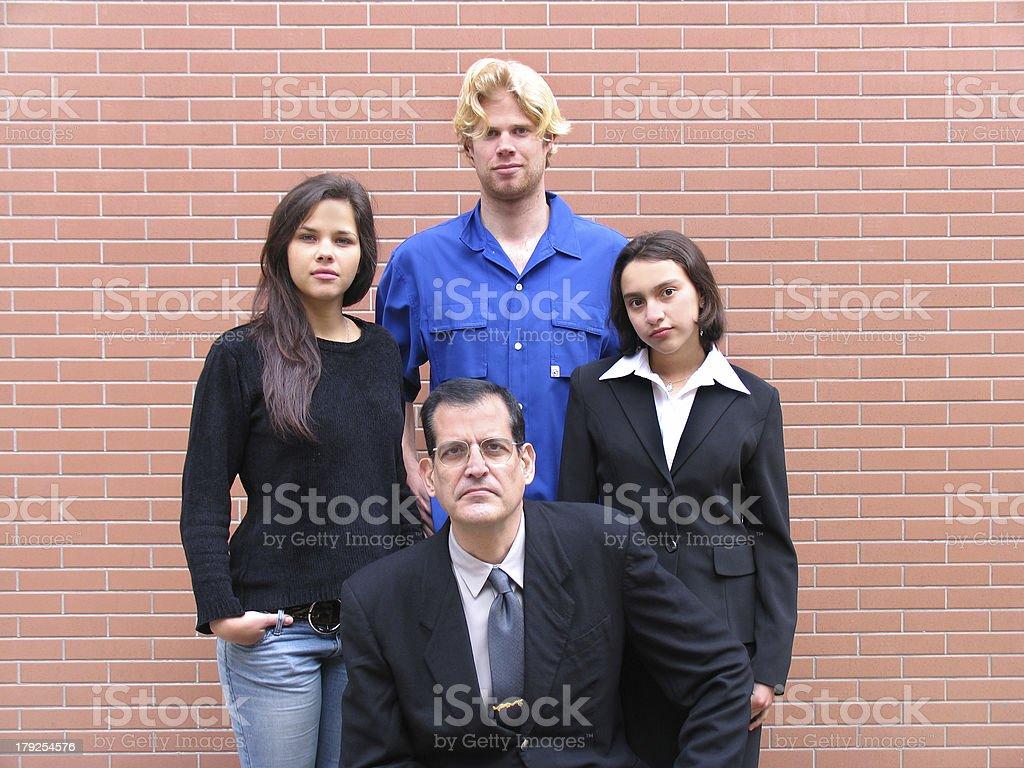 Teacher & Students royalty-free stock photo