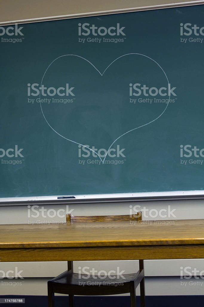 Teacher's pet royalty-free stock photo