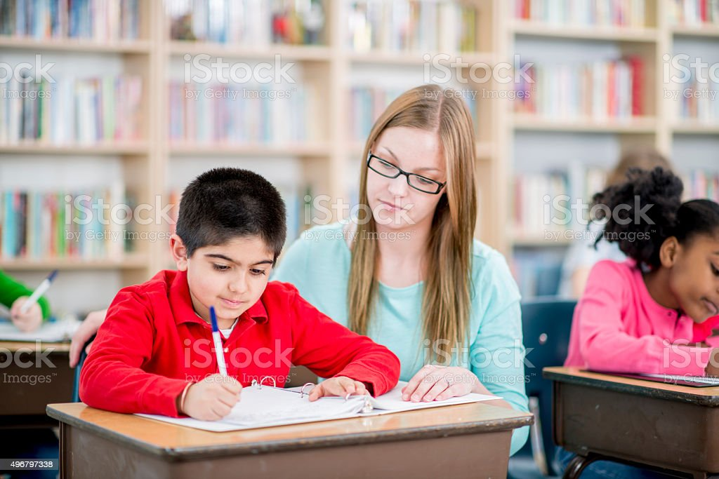 Teaching and Learning stock photo