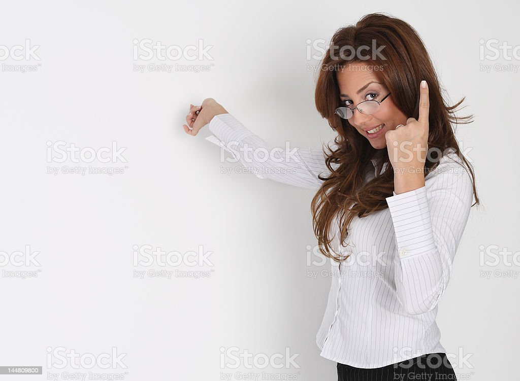 Teaching business royalty-free stock photo