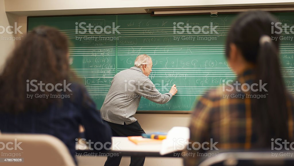 Teaching isn't a job, it's a passion stock photo