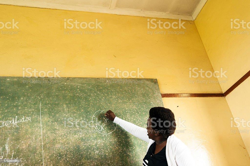 Teaching stock photo