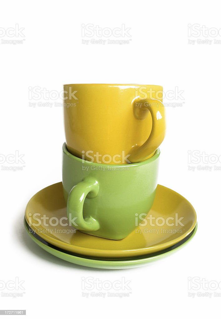 Teacups stock photo