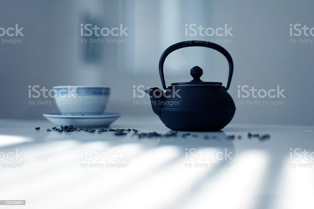 Teahouse stock photo