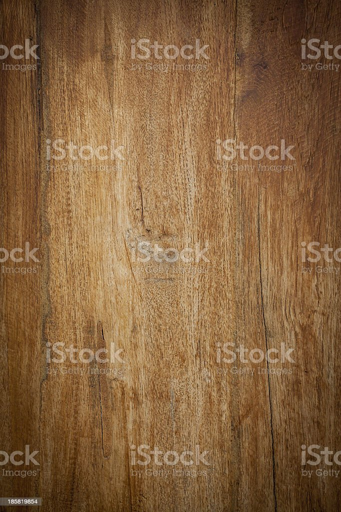 Teak wood background Vartical drop shadow stock photo