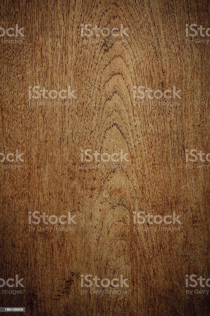 Teak wood background Vertical drop shadow stock photo