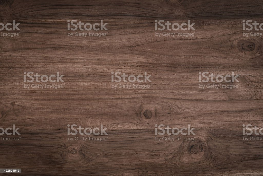 Teak wood beautifully stained and showing natural pattern stock photo