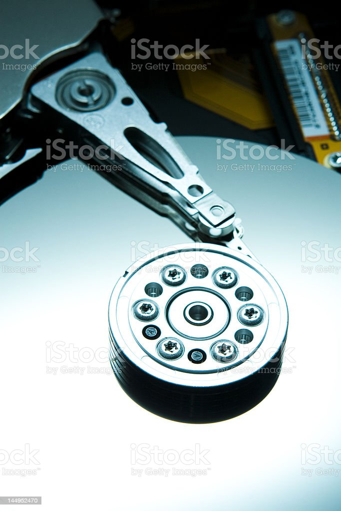 Teal HDD royalty-free stock photo