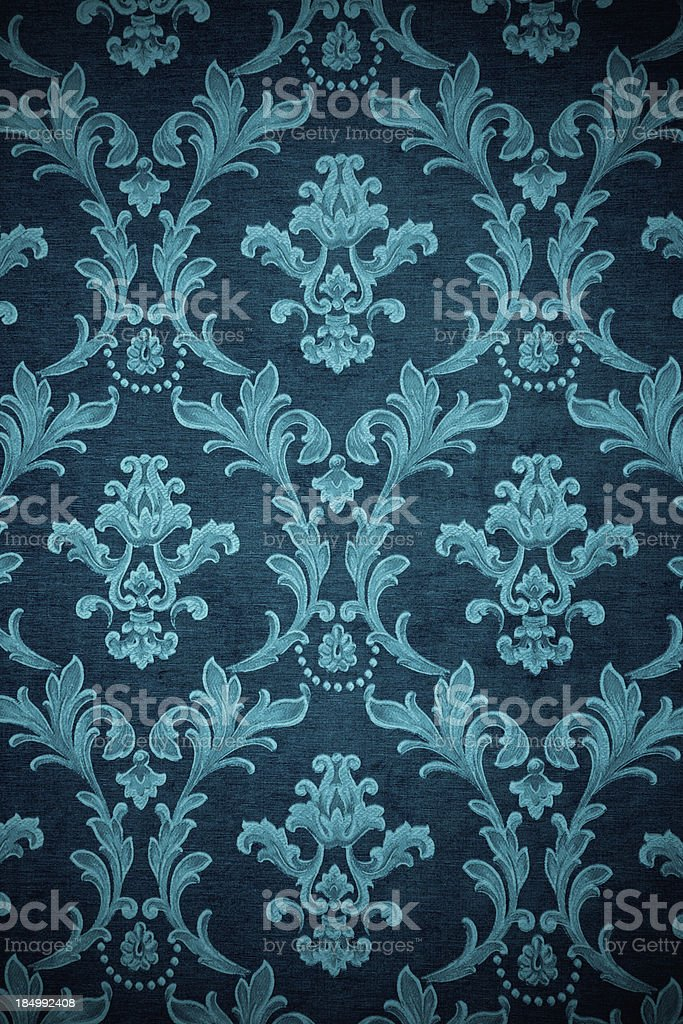 Teal Victorian Background royalty-free stock photo
