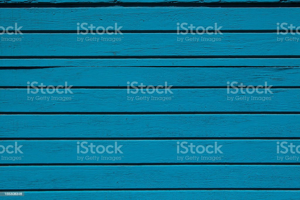 Teal Wood Planks Up Close Background royalty-free stock photo