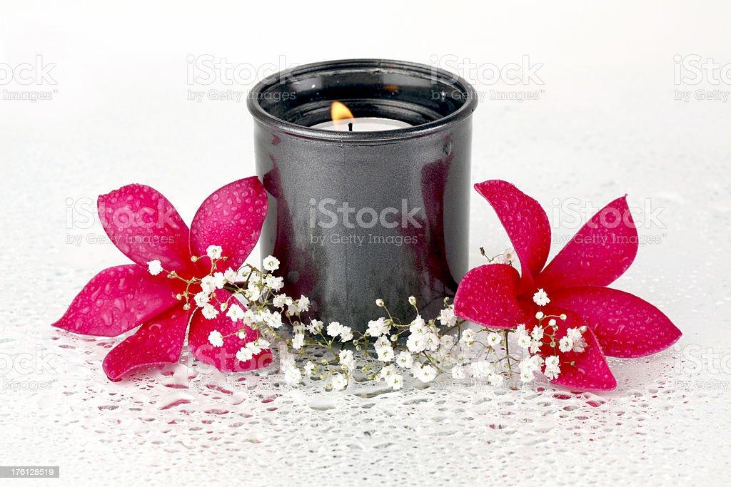 Tealight decorative royalty-free stock photo