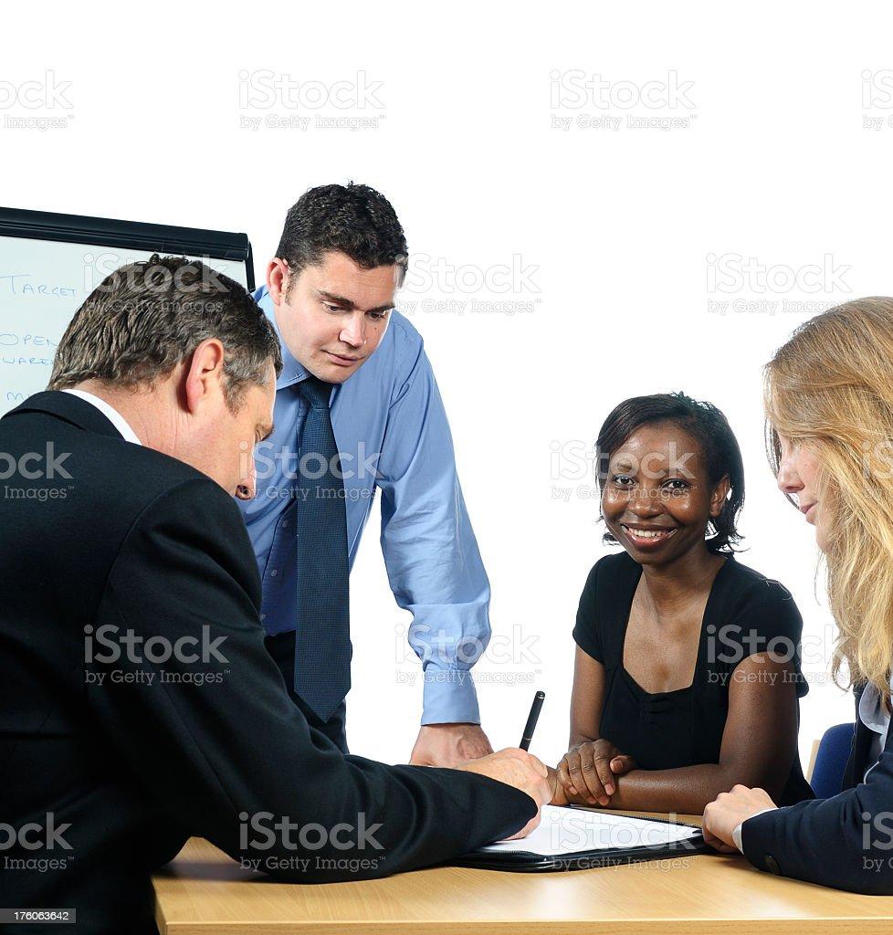 Team Brainstorming stock photo