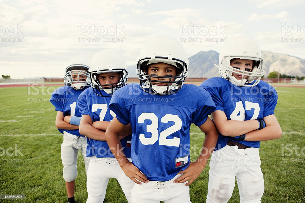 Team Captains royalty-free stock photo